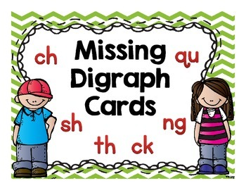 Missing Letter Digraph Cards