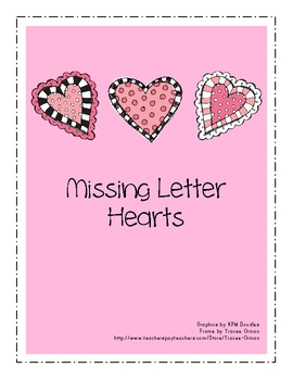 Missing Letter Hearts