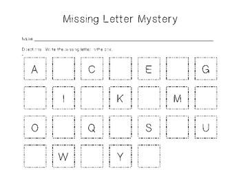 Missing Letter Mystery