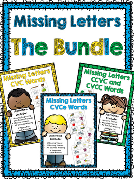 Missing Letters Bundle