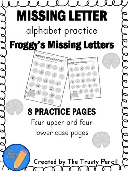 Missing Letters - Froggys Missing Letters