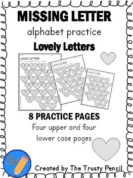 Missing Letters - Lovely Letters