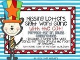 Missing Letters Sight Word Center