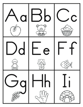 Missing Letters - Visual Scanning, Sequencing and Handwriting Activity