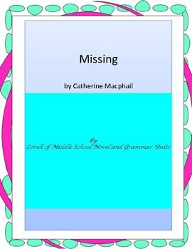 Missing Literature and Grammar Unit