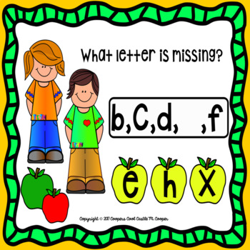 Missing Lowercase Letter Find