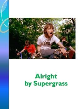 Missing Lyrics - Alright by Supergrass