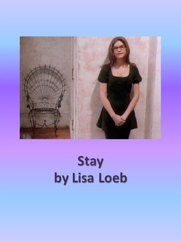 Missing Lyrics - Stay by Lisa Loeb