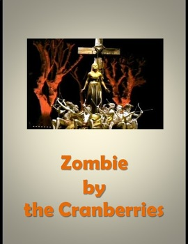 Missing Lyrics - Zombie by the Cranberries
