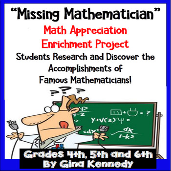 "Math Research Enrichment Project, ""The Missing Mathematician!"""