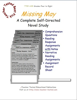 Missing May: A Complete Novel Study