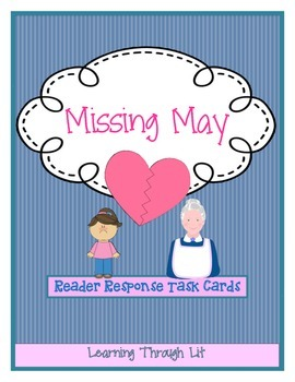 MISSING MAY - Cynthia Rylant - Discussion Cards
