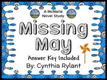 Missing May (Cynthia Rylant) Novel Study / Reading Comprehension (31 pages)
