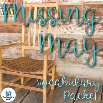 Missing May Vocabulary Packet