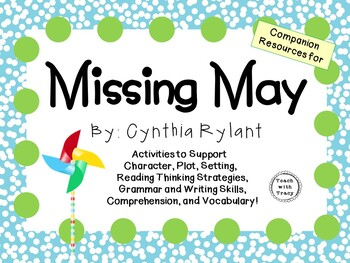 Missing May by Cynthia Rylant: A Complete Novel Study!