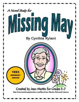 Missing May, by Cynthia Rylant: A Novel Study
