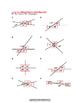 Missing Measures: Intersecting Lines Worksheet# 2