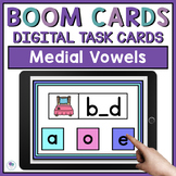 Missing Middle Sounds CVC - Boom Cards