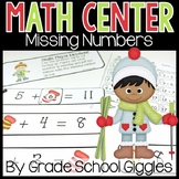 Missing Mittens: Addition and Subtraction Center Game