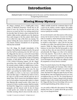 Missing Money Mystery L1 - Figuring out Forensics: Organization and Observation