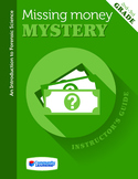 Missing Money Mystery L7 - Cast a Clue: Shoe Print Evidence