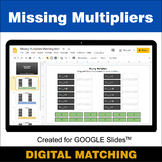 Missing Multipliers - Google Slides - Distance Learning -