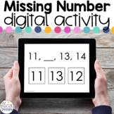 Missing Number 0-20 - Digital Activity - Distance Learning