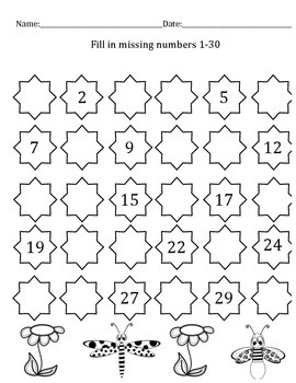 Missing Number 1-30