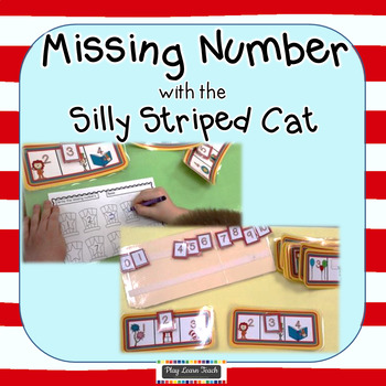Missing Numbers Silly Cat Edition