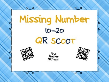Missing Number 10-20 QR SCOOT