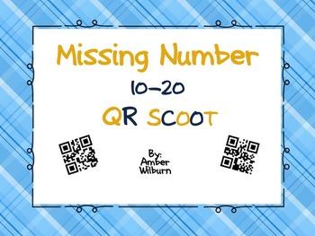 Missing Number 10-20 QR SCOOT