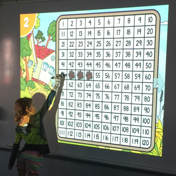 120 Chart Missing Number PowerPoint Game