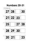 Missing Number 20-31