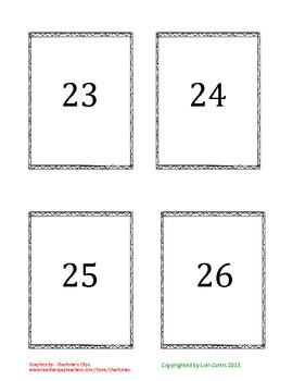 Missing Number Activity #2