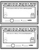 Gingerbread Missing Number (Addition/Subtraction) Word Problem Books