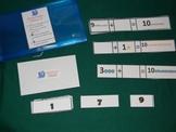 Missing Number Addition sentence to 10 Math Center- Hard Good