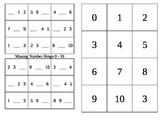 Missing Number Bingo 0-10