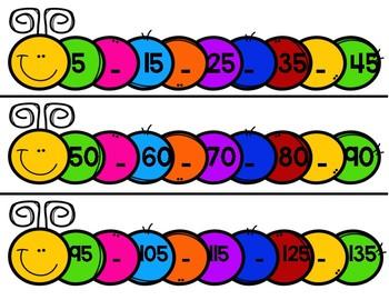 Missing Number Caterpillar