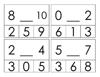 Missing Number Clip 0 to 10