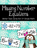 Missing Number Equations