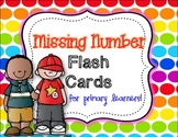 Missing Number Flash Cards