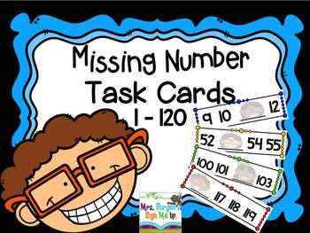 Missing Number Fluency 1-120