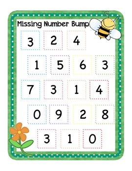 Missing Number Fun: Addition