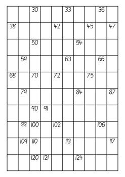 Missing Number Grids: 30 - 300
