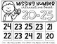 Missing Number Interactive Books {Numbers 20-40}