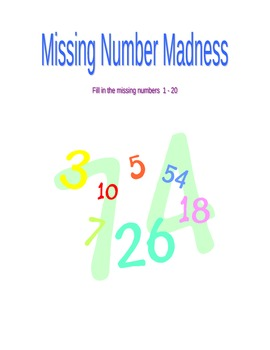 Missing Number Madness (1 - 20)