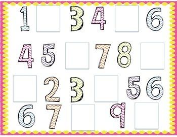 Missing Number Mat