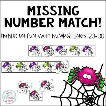 Missing Number Match 20-30