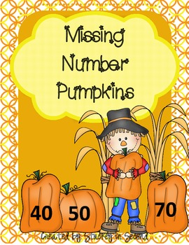 Missing Number Math Center (mClass Math Practice)