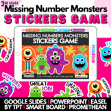 Missing Number Monsters SMART BOARD Game - Common Core Aligned